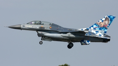 Photo ID 126438 by Rainer Mueller. Belgium Air Force General Dynamics F 16BM Fighting Falcon, FB 24