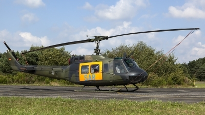 Photo ID 127584 by Thomas Ziegler - Aviation-Media. Germany Air Force Bell UH 1D Iroquois 205, 71 12