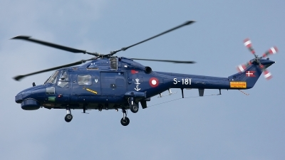 Photo ID 126699 by Rainer Mueller. Denmark Navy Westland WG 13 Super Lynx Mk90, S 181
