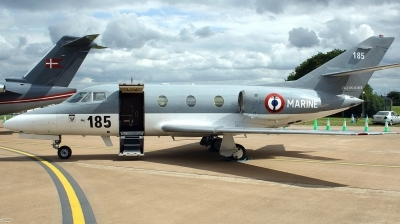 Photo ID 127070 by Arie van Groen. France Navy Dassault Falcon 10MER, 185