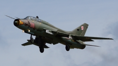 Photo ID 126887 by Lukas Kinneswenger. Poland Air Force Sukhoi Su 22UM 3K, 310