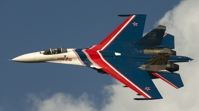 Photo ID 126910 by Thomas Ziegler - Aviation-Media. Russia Air Force Sukhoi Su 27S, 10 BLUE