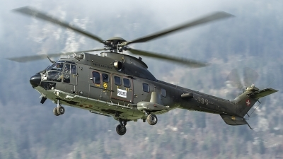 Photo ID 127083 by Thomas Ziegler - Aviation-Media. Switzerland Air Force Aerospatiale AS 532UL Cougar, T 339