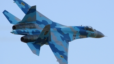 Photo ID 127038 by Michal Hlavac. Ukraine Air Force Sukhoi Su 27S, 39 BLUE