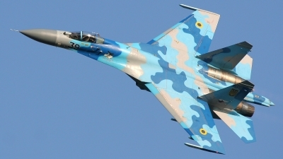 Photo ID 127037 by Michal Hlavac. Ukraine Air Force Sukhoi Su 27S, 39 BLUE