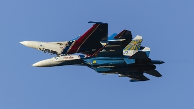 Photo ID 127313 by Caspar Smit. Russia Air Force Sukhoi Su 27S, 08 BLUE