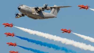 Photo ID 127234 by Alex van Noye. Company Owned Airbus Airbus A400M Atlas, F WWMZ
