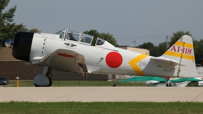 Photo ID 127344 by David F. Brown. Private Private North American SNJ 6 Texan, N9820C