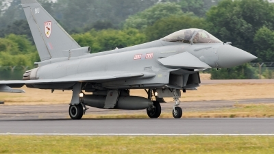 Photo ID 127664 by Alex van Noye. UK Air Force Eurofighter EF 2000 Typhoon FGR4, ZK307