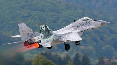 Photo ID 127681 by Michal Hlavac. Slovakia Air Force Mikoyan Gurevich MiG 29AS, 0921