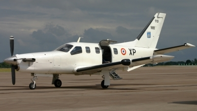 Photo ID 16570 by Tom Gibbons. France Air Force Socata TBM 700A, 110
