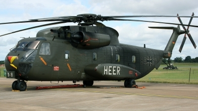 Photo ID 127498 by Arie van Groen. Germany Army Sikorsky CH 53G S 65, 84 58