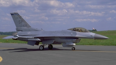 Photo ID 127677 by Peter Boschert. USA Air Force General Dynamics F 16C Fighting Falcon, 91 0406