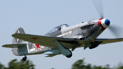 Photo ID 127511 by Kostas D. Pantios. Private Private Yakovlev Yak 3UA, F AZXZ