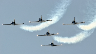 Photo ID 128287 by FEUILLIN Alexis. Private Baltic Bees display team Aero L 39C Albatros, YL KSH