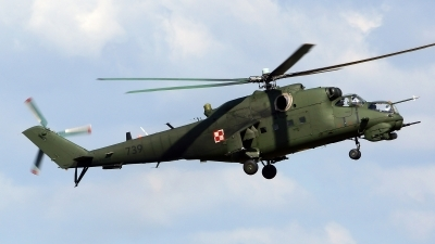 Photo ID 127611 by Lukas Kinneswenger. Poland Army Mil Mi 24V, 739