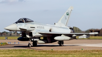 Photo ID 127609 by Carl Brent. Saudi Arabia Air Force Eurofighter EF 2000 Typhoon F2, 310