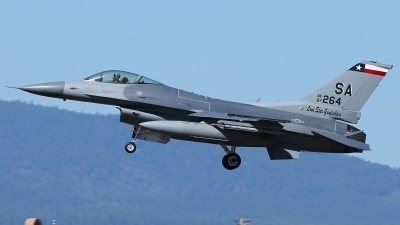 Photo ID 127649 by Russell Hill. USA Air Force General Dynamics F 16C Fighting Falcon, 87 0264