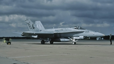 Photo ID 127784 by David F. Brown. USA Navy McDonnell Douglas F A 18A Hornet, 163135