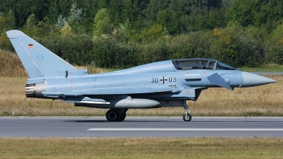 Photo ID 128784 by Rainer Mueller. Germany Air Force Eurofighter EF 2000 Typhoon T, 30 03