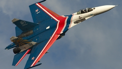 Photo ID 128250 by Thomas Ziegler - Aviation-Media. Russia Air Force Sukhoi Su 27S, 01 BLUE