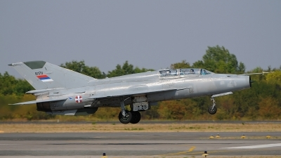 Photo ID 127940 by Stephan Franke - Fighter-Wings. Serbia Air Force Mikoyan Gurevich MiG 21UM, 16178