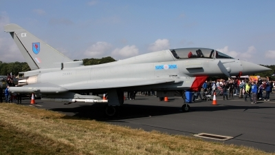 Photo ID 128109 by Jan Eenling. UK Air Force Eurofighter EF 2000 Typhoon T3, ZK381