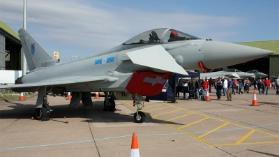 Photo ID 128303 by Jan Eenling. UK Air Force Eurofighter EF 2000 Typhoon FGR4, ZK327