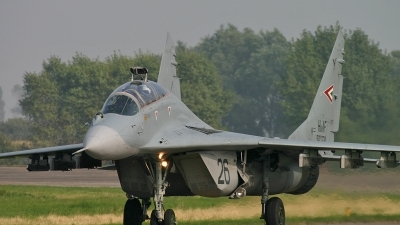 Photo ID 16660 by Melchior Timmers. Hungary Air Force Mikoyan Gurevich MiG 29UB 9 51, 26