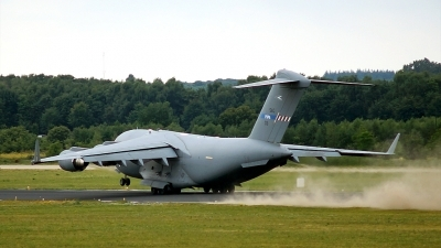 Photo ID 128365 by rob martaré. NATO SAC Strategic Airlift Capability Boeing C 17A Globemaster III, 08 0003