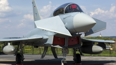 Photo ID 128318 by Thomas Ziegler - Aviation-Media. Germany Air Force Eurofighter EF 2000 Typhoon T, 30 95