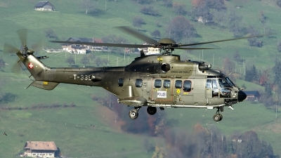 Photo ID 128311 by Thomas Ziegler - Aviation-Media. Switzerland Air Force Aerospatiale AS 532UL Cougar, T 339