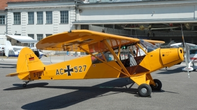 Photo ID 128584 by Florian Morasch. Germany Air Force Piper PA 18 95 Super Cub, D EDFT