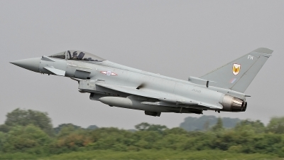 Photo ID 128366 by Craig Pelleymounter. UK Air Force Eurofighter EF 2000 Typhoon FGR4, ZK329