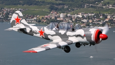 Photo ID 128710 by Ludwig Isch. Private Private Yakovlev Yak 52 Bacau, LY AGI