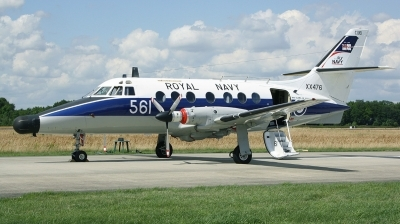 Photo ID 133434 by Arie van Groen. UK Navy Scottish Aviation HP 137 Jetstream T2, XX476