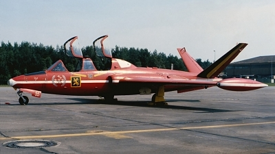 Photo ID 131169 by Robert W. Karlosky. Belgium Air Force Fouga CM 170 Magister, MT33