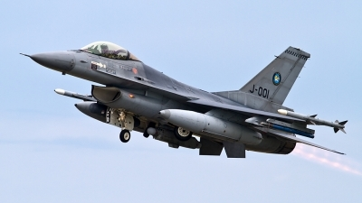 Photo ID 128697 by Alfred Koning. Netherlands Air Force General Dynamics F 16AM Fighting Falcon, J 001