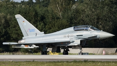 Photo ID 128693 by Thomas Ziegler - Aviation-Media. Germany Air Force Eurofighter EF 2000 Typhoon T, 98 03