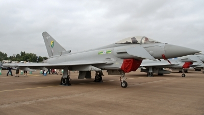Photo ID 128857 by Niels Roman / VORTEX-images. UK Air Force Eurofighter EF 2000 Typhoon F2, ZJ934
