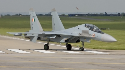 Photo ID 16757 by Marcel Bos. India Air Force Sukhoi Su 30MKI Flanker, SB103