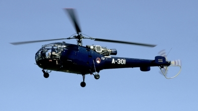 Photo ID 128976 by Marinus Dirk Tabak. Netherlands Air Force Aerospatiale SA 316B Alouette III, A 301