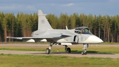 Photo ID 16774 by Marcel Bos. Sweden Air Force Saab JAS 39A Gripen, 39198