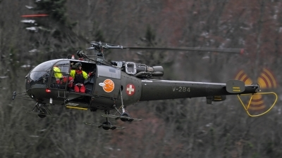 Photo ID 129016 by Sven Zimmermann. Switzerland Air Force Aerospatiale SA 319B Alouette III, V 284