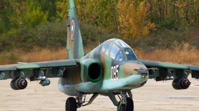 Photo ID 129076 by Anton Balakchiev. Bulgaria Air Force Sukhoi Su 25UBK, 095