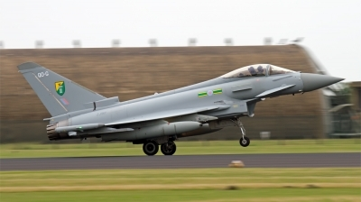 Photo ID 129236 by Chris Albutt. UK Air Force Eurofighter EF 2000 Typhoon F2, ZJ917