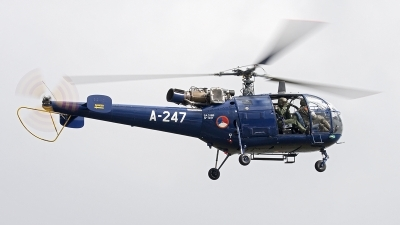 Photo ID 129549 by Walter Van Bel. Netherlands Air Force Aerospatiale SA 316B Alouette III, A 247