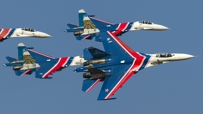 Photo ID 129262 by Thomas Ziegler - Aviation-Media. Russia Air Force Sukhoi Su 27S, 01 BLUE