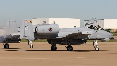 Photo ID 129247 by Melchior Timmers. USA Air Force Fairchild A 10C Thunderbolt II, 79 0175