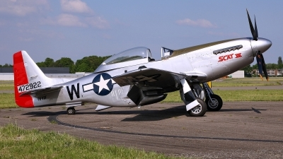 Photo ID 129256 by Mario Boeren. Private Private North American TF 51D Mustang, PH VDF